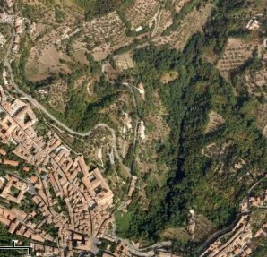 The ravine Fosso del Bulagaio