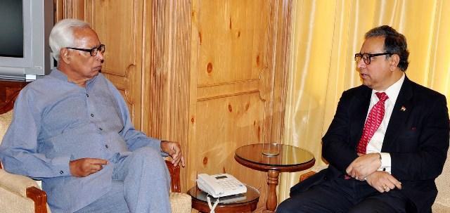 GOVERNOR MEETING CEO PRASAR BHARTI-Scoop News