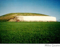 Newgrange mound-courtesy of Mike Quane