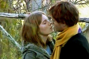 The Infamous, yet chaste, kiss.  A simple comforting act on a horrible day