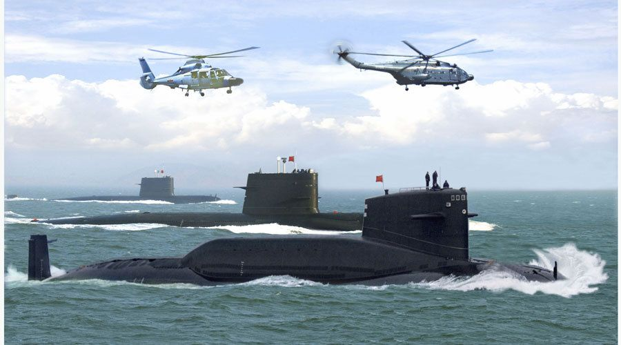 Chinese Subs Planning Widespread Nuclear Attacks On