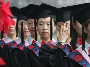 Chinese spies posing as college and university students.