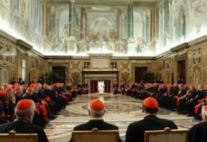 "Board meeting of the Vatican Bank is ""top heavy"" with prominent members of the Catholic Church. They must be involved in money laundering in some way since the Vatican bank has been under investigation numerous times in 2010, 2011, and 2012."