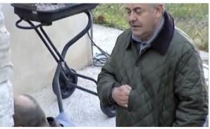 Giuliano Mignini resembles Napoleon on DAY 1 of the Meredith Kercher crime scene.