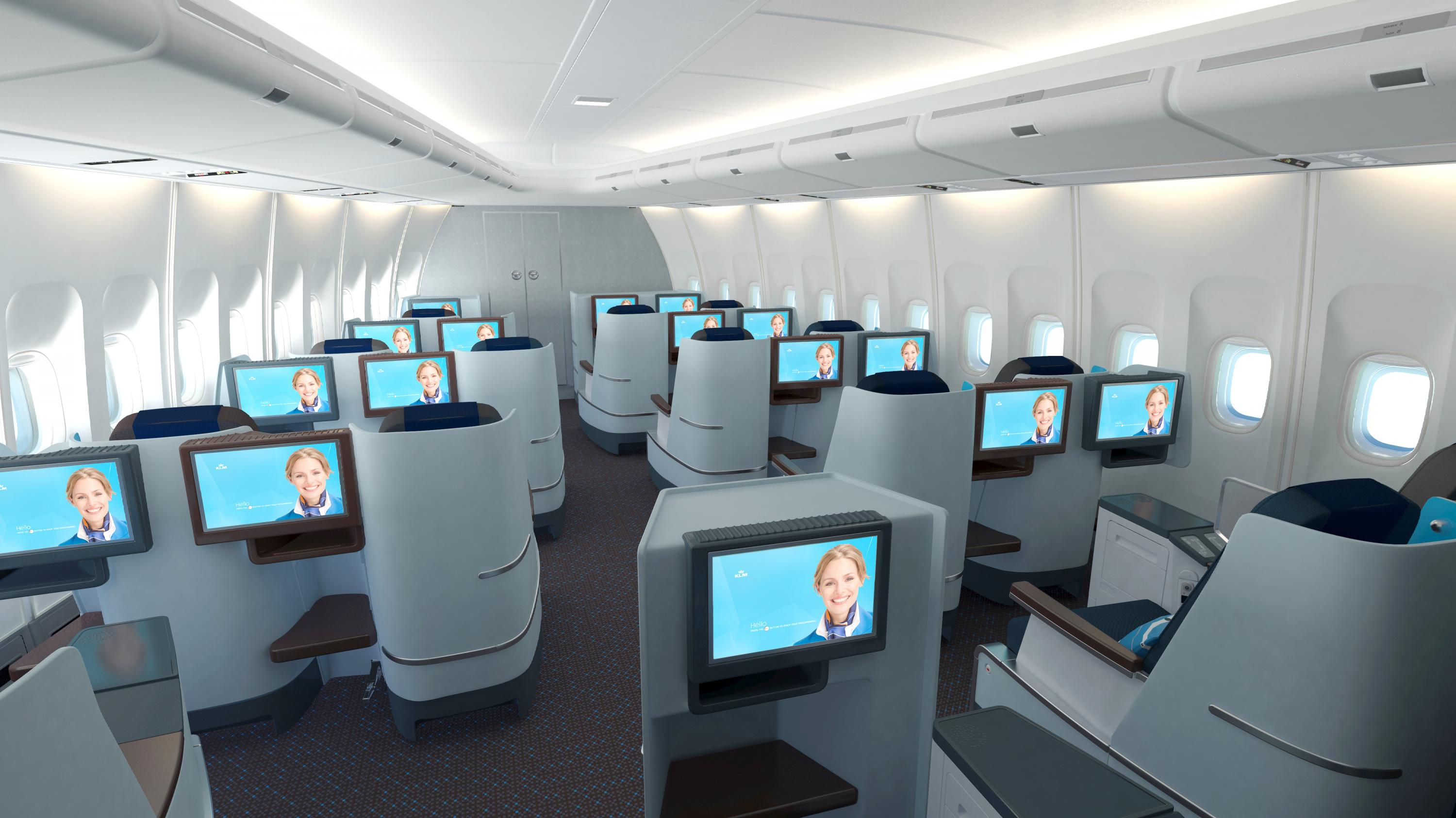 business class Upgrades to business class mean that the steep cost of first-class travel is no longer worth it.