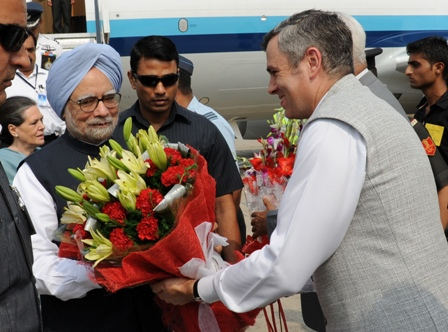 CM received PM, UPA Chairperson at Udhampur-Scoop News