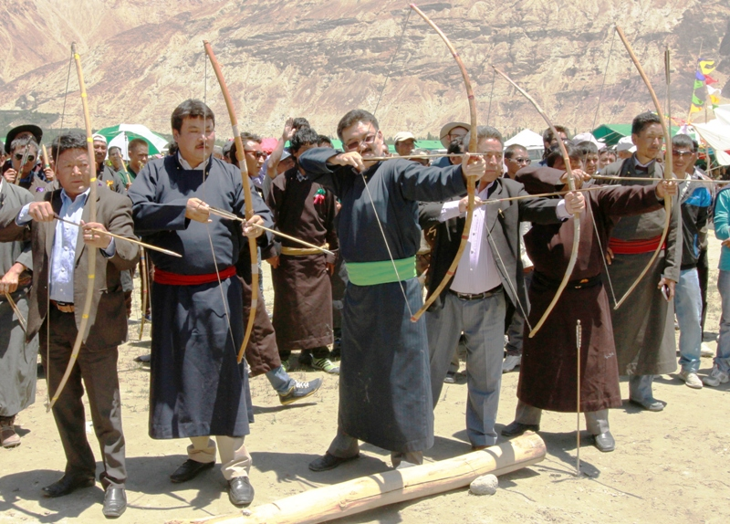 Archery at Silk Route Festival-Scoop News