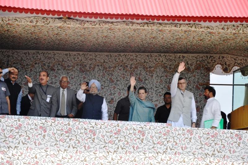 PM,Manmohan,Sonia,Omar,Azad at Kishtwar -Scoop News