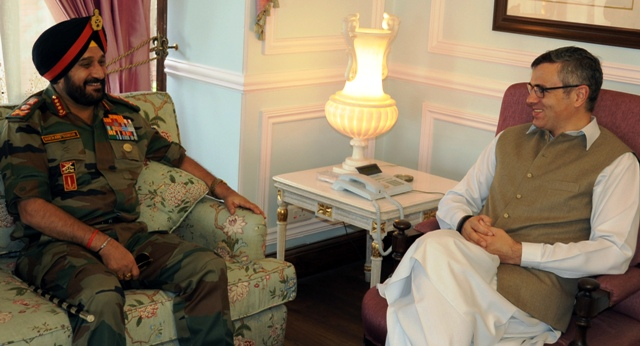 Army Chief & JK CM-Scoop News