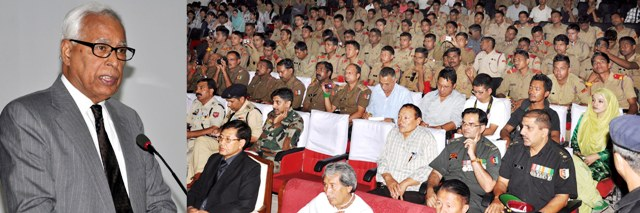Governor Adressing on 12-day Special National Integration Camp of NCC at  Leh-Scoop News