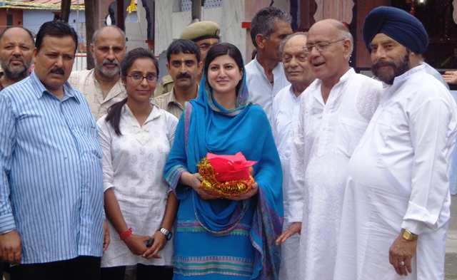 Dr Shehnaz, MLC visits Budha Amarnath temple in Poonch-Scoop News