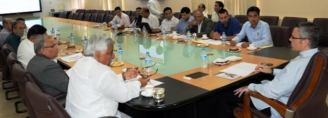 JK CM Chairs 3rd BoD meeting of JKSOECL -Scoop News