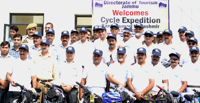 Cycle expedition welcomed at Lakhanpur-Scoop News