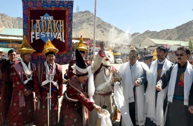 JK Minister G A Mir inaugurates Ladakh festival-Scoop News