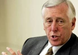 """""""I ask my colleagues to come together on behalf of the American people and our great country to act responsibly"""", said Rep. Steny Hoyer."""