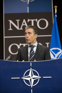 """""""We have just had a good discussion on Afghanistan with Defense Minister Mohammadi and our ISAF partners on the growing capability of the Afghan Security Forces. And we agreed further elements in our plans for a mission to train, advise and assist them after 2014"""", said NATO Secretary General Rasmussen."""