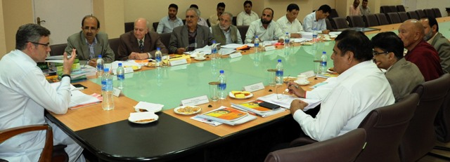 JK CM Chairs Central Committee meeting-Scoop News