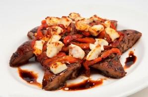 Donovan's Grilled Portabello Mushroom-courtesy of Merilee Kern