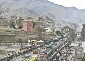 the Torkham crossing-Wikipedia commons