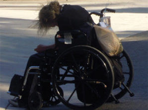 Disabled veteran languishes on the street while employees of the Veteran Affairs attend luxury conference - that cost over $700 grand -outrageous!