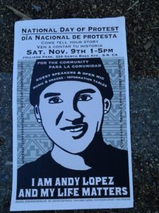 Andy Lopez poster