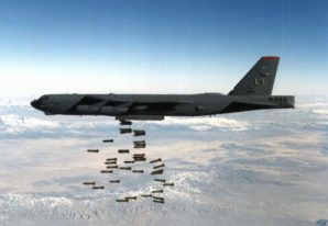B-52 strategic long range bomber capable of carrying nuclear weapons, and 2000 pound bombs intentionally violated Chinese Air Defense Zone.