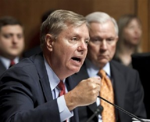 """""""Let's call it what it was -- a raw power grab by Senate Democrats and President Obama. Previous efforts to resist the temptation of turning the Senate into the House of Representatives were lost today and the 'advise and consent' clause for executive and judicial branch nominations was washed away"""", said Senator Graham."""