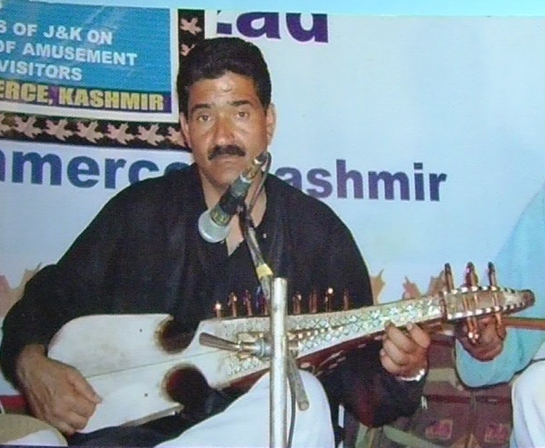 Renowned Rubab player Muhammad Yousuf Rather