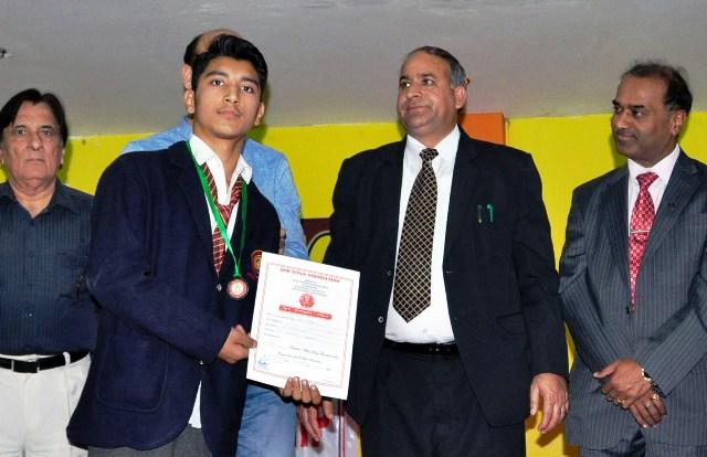 JK Minister Shabir Khan distributed medals, certificates