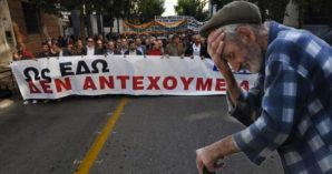 Demonstrations continue throughout Greece