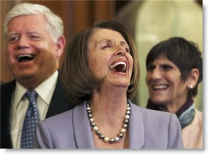Members of the U.S. House of Representatives laughing. Many have access to secrets with absolutely no  background checks.