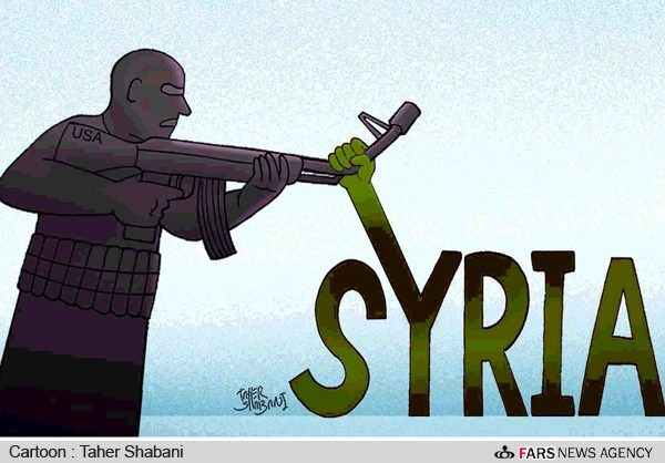 Image result for US Is Increasing Its Military IN SYRIA CARTOON