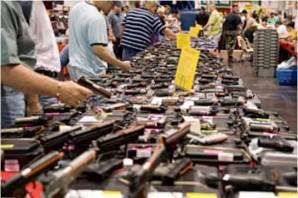 Gun show in Arizona.