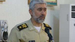 """""""Today, Iran's warships and destroyers are equipped with the missiles which can fire at targets beyond the horizon and its submarines are equipped with highly smart and powerful torpedoes which can target aggressors from beneath the surface,"""" Deputy Commander of the Iranian Navy for Coordination Rear Admiral Amir Rastegari said on Monday. Pictured here: Admiral Rastegari (courtesy Fars news agency, Iran )."""