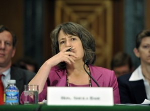 Shelia Bair, former FDIC chairman.