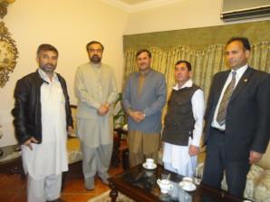 Delegation Meet Governor