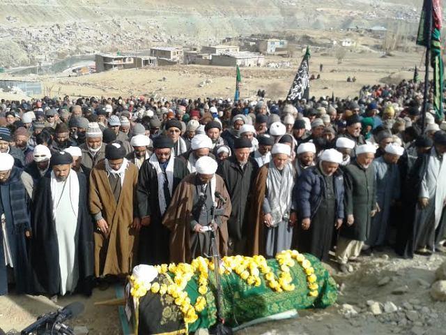 Thousands performed Nimaz Jinaza of Sheikh Toha in Kargil