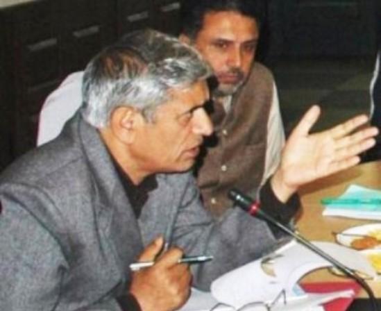 PDP Senior leader and MLA Bandipur, Nizamudin Bhat