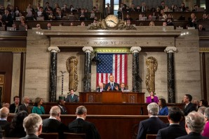 President Barack Obama delivers the State of the Union address at the U.S. Capitol in Washington, D.C., Feb. 12, 2013. (Official White House Photo by Pete Souza).