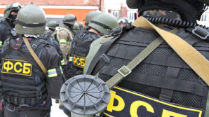Putin signs order allowing amendments to security measures during the SOchi Winter Olympi c games. Pictured here: FSB operatives in Russia during a counter terrorism operations.
