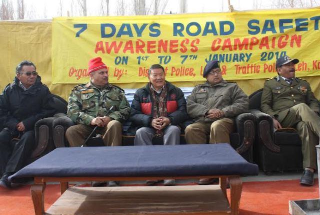 SP Leh Dr. Sunil Gupta chairs public awareness meet in Leh