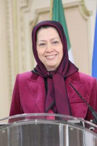 Maryam Rajavi Paris 19 jan 2014