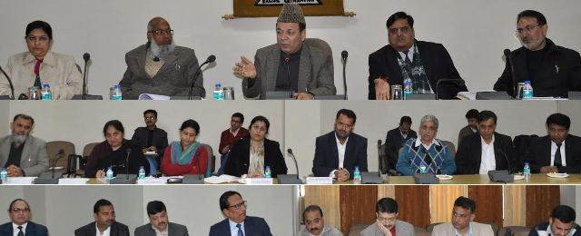 Minister for Finance and Ladakh Affairs Abdul Rahim Rather today initiated two days Pre-budget Consultations at Jammu.
