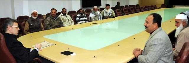 Panchayat members call on CM-scoop news
