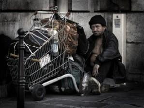 Homeless in Phoenix, Arizona.