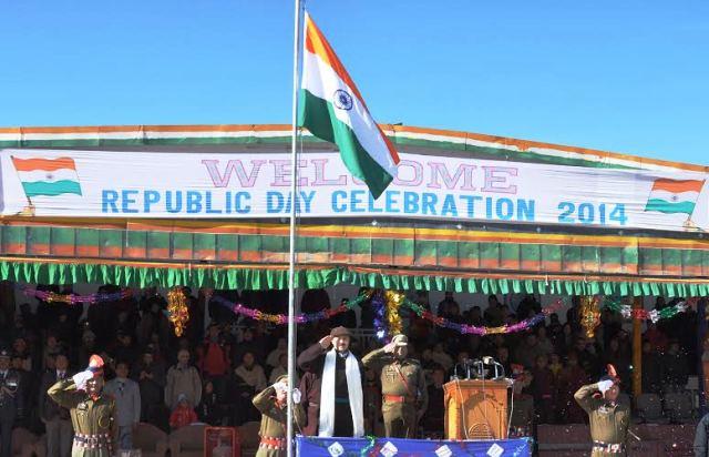 Leh Celebrates 65th Republic Day