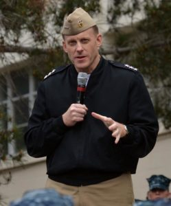 Vice Admiral Rodgers pegged to head the NSA by President Obama.