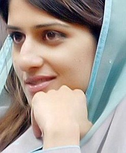 Hina Rabbani Khar is the hauntingly beautiful Pakistani stateswoman and economist who is the current and 26th Foreign Minister of Pakistan who NATO officials fawned over in 2012.