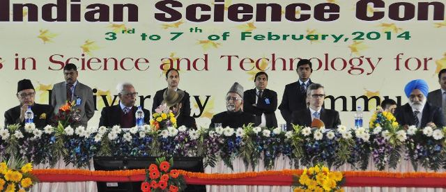 valedictory function of 101st Indian Science Congress in Jammu University