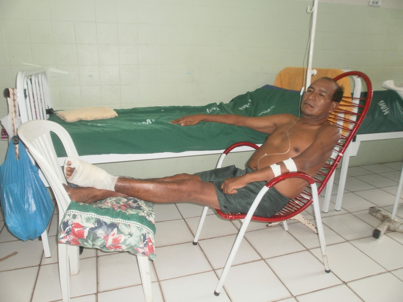 Chief Ubirajara finally in hospital